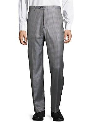 Brioni Silk Trousers