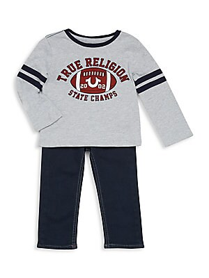 Baby Boy's Two-Piece Athletic Set