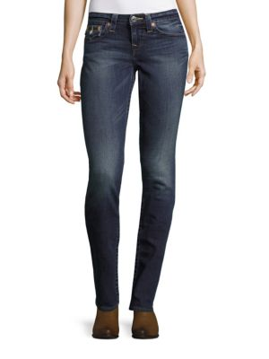 Slim-Fit Ankle-Length Jeans