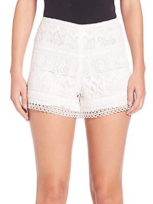 Lace Eyelet Shorts