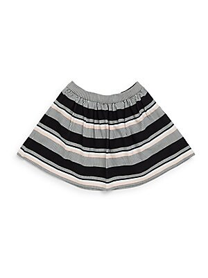 Girl's Coreen Striped Skirt