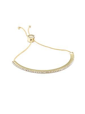 Studded Curved Bracelet