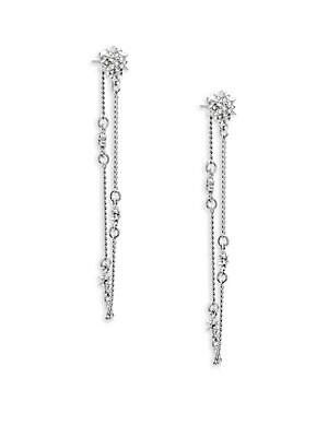 Star Front Earrings
