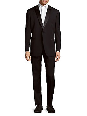 Back Vented Wool Suit