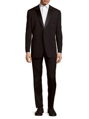 Back Vented Wool Tuxedo Ike Evening by Ike Behar