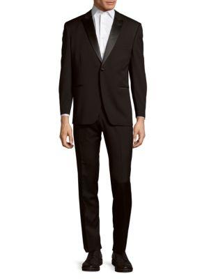 Lusterous Lapel Tuxedo Ike Evening by Ike Behar