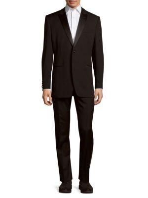 Slim-Fit Wool Tuxedo Ike Evening by Ike Behar