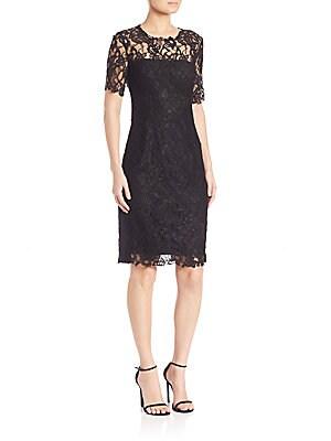 Crochet Lace Bellamy Dress