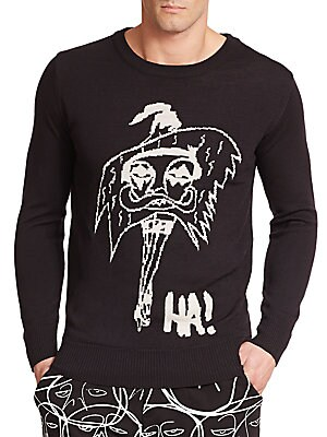 Le Femme Graphic Sweater