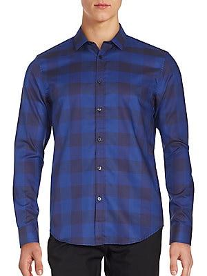Buffalo Long Sleeve Checkered Shirt