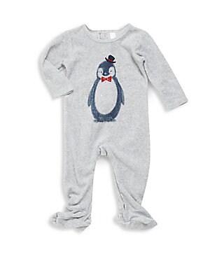 Baby's Penguin Printed Footie