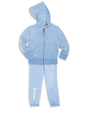 Baby's Two-Piece Unicorn Hoodie & Sweatpants Set