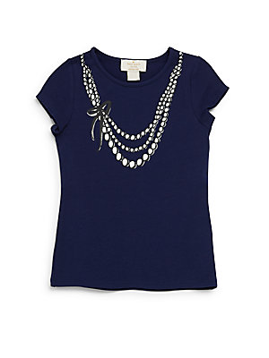 Girl's Alexandria Necklace T-Shirt