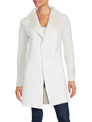 Claire Faux Shearling Coat