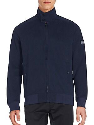 Zip-Up Funnel Neck Sweater