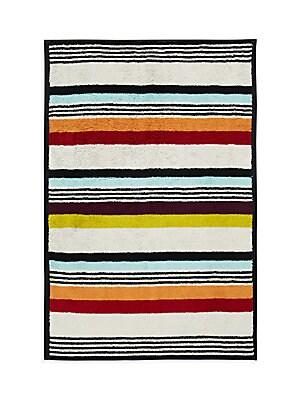 Multistripe Cotton Bath Towel