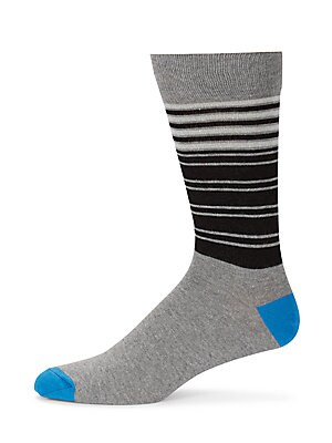 Saks Fifth Avenue Cotton Blend Crew Socks | Underwear, Hosiery, Footwear and Clothing
