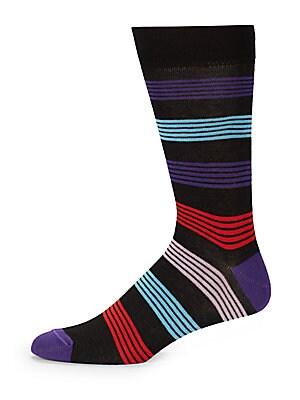 Cotton Blend Crew Socks