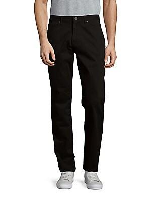 michael kors male solid tailoredfit jeans