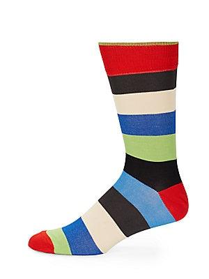 Cotton Blend Mid-Calf Socks