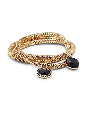 Polished Mesh Chain Bracelet