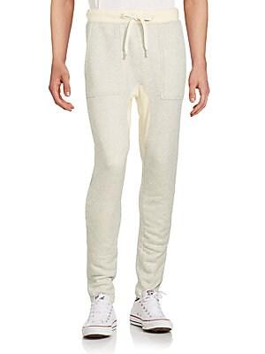 Cotton-Blend Two-Tone Darwstring Panrs