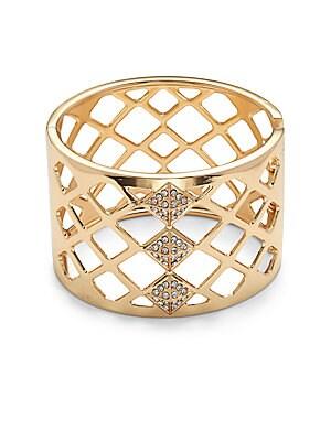 Goldtone Openwork Bracelet