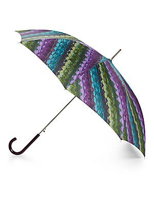 Paola Round Printed Automatic Umbrella