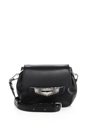 Mini Whipstitched Leather Crossbody Bag Tod's