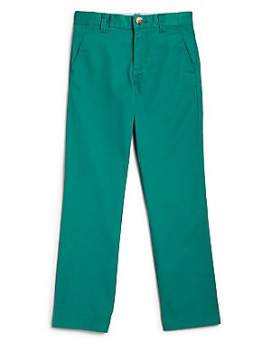 Little Boy's & Boy's Cotton Gabardine Chino Pants
