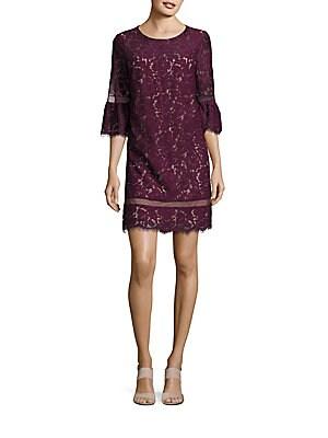 Celestia Roundneck Lace Dress