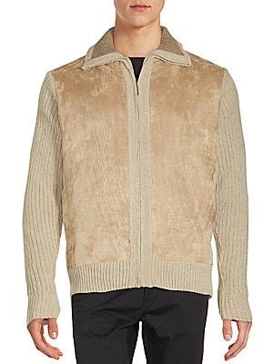 Chenille Zippered Jacket