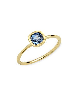 Click here for Blue Sapphire in 14KT Yellow Gold Arctic Ring prices