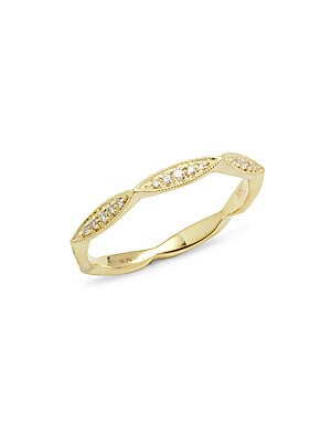 Click here for Diamond in 14KT Yellow Gold Zein Band Ring prices