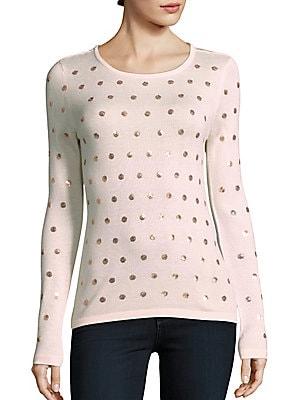 Dot Sequin Sweater