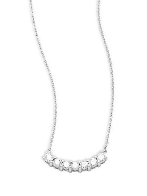 Click here for Tiny Treasure 18K White Gold Pendant Necklace prices