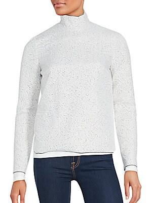 Shiny Fuse Turtleneck Sweater