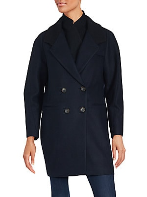 Double Breasted Peacoat