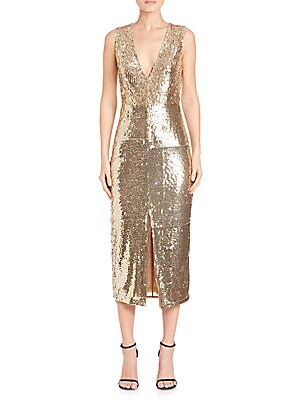 Leora Sequined Dress