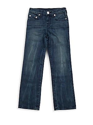 Boy's Straight-Fit Jeans