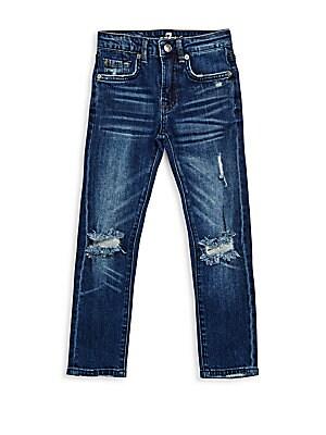 Little Boy's Cotton-Blend Jeans