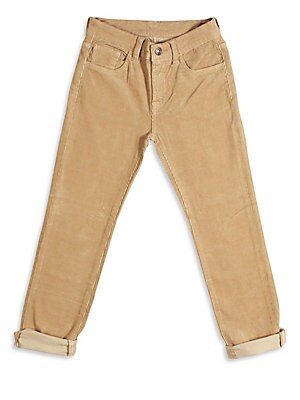 Little Boy's & Boy's Corduroy Pants
