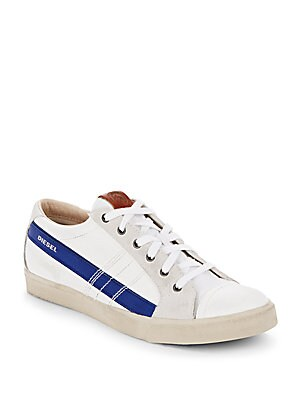 D-Velows Lace-Up Sneakers