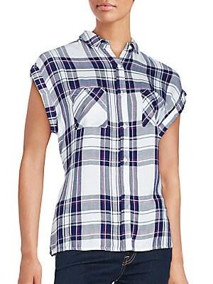 Check Printed Shirt