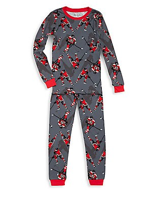 Little Boy's & Boy's Printed Sleep Set