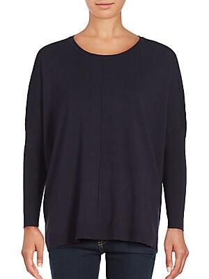 Boxy Dolman Ribbed Sweater