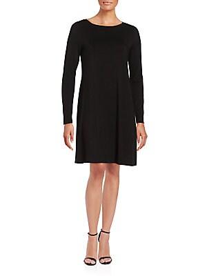 Casual Knit Shift Dress