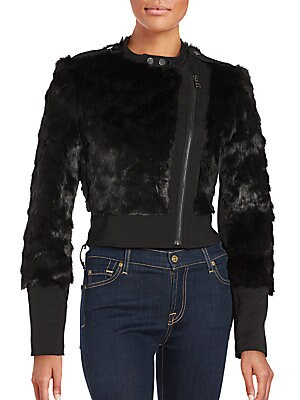 Breton Faux Fur Jacket