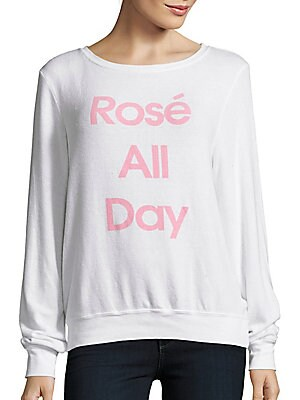 Rose All Day Long Sleeve Pullover
