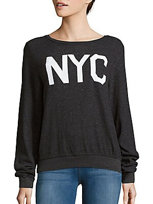 NYC Boatneck Pullover